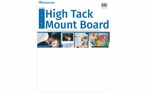 """PA Ess Self-Stick High Tack Mount Board 16x20"""" Perspective: front"""