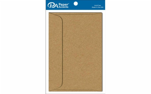 Envelope 6x9 10pc Brown Bag Perspective: front