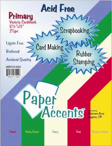 Paper Accents Card Stock Variety Pack - 25 Pack - Primary Perspective: front