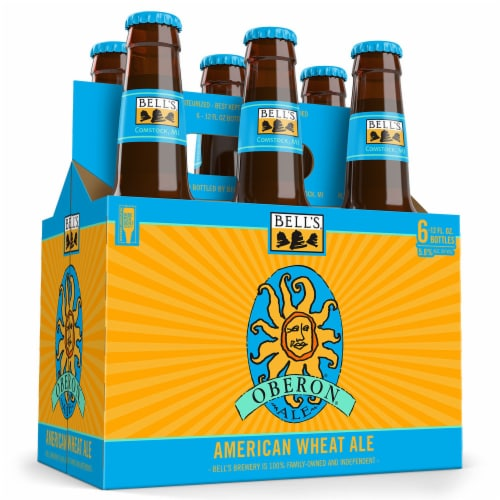 Bell's Brewery Oberon American Wheat Ale Perspective: front