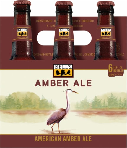Bell's Brewery Amber Ale Perspective: front
