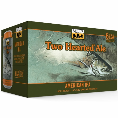 Bell's Two Hearted Ale American IPA Perspective: front