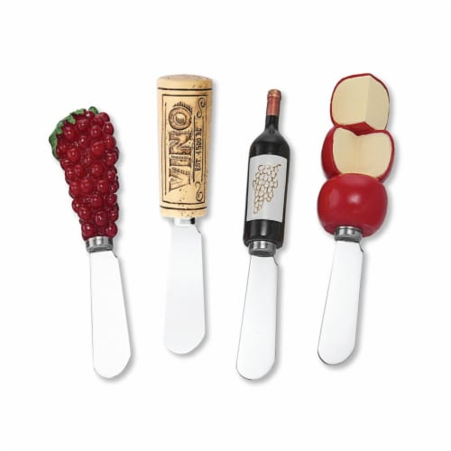Supreme Housewares Spreader Set of 4-Vino Perspective: front