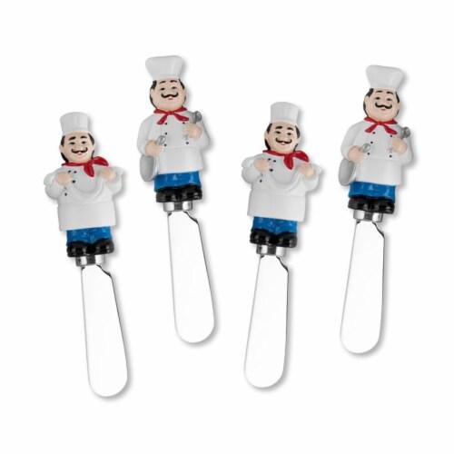 Supreme Housewares Spreader Set of 4-Chefs Perspective: front