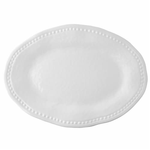 """Supreme Housewares Pebble, 18"""" Oval Platter Perspective: front"""