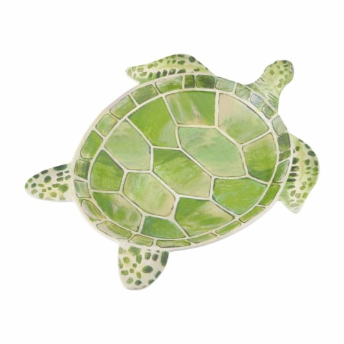 "Supreme Housewares 9.5"" Turtle Plates, Set of 4 Perspective: front"