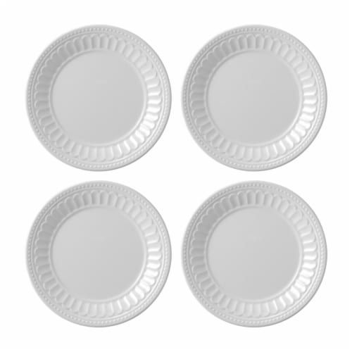 "Supreme Housewares Chateau, 6"" Melamine Plate Set of 4 Perspective: front"