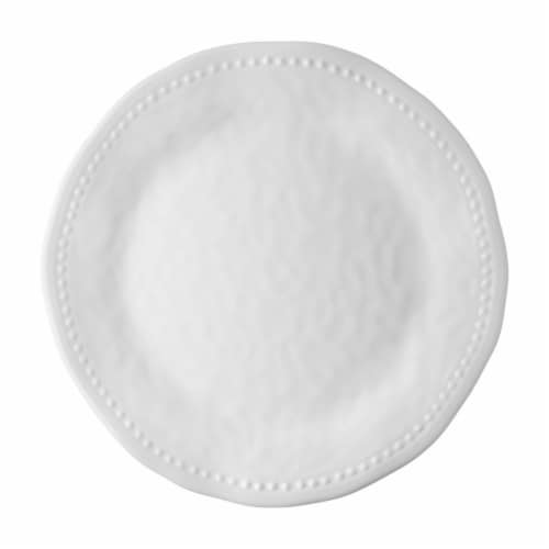 "Supreme Housewares Pebble, 11"" Melamine Plate Perspective: front"