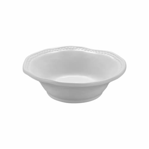 "Supreme Housewares Pebble, 7"" Melamine Bowl Perspective: front"