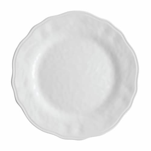 """Supreme Housewares Dimple, 11"""" Melamine Plate Perspective: front"""