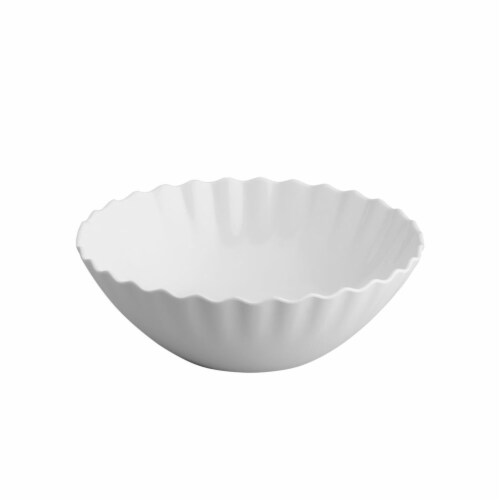 "Supreme Housewares Ruffle, 7.5"" Melamine Bowl Perspective: front"