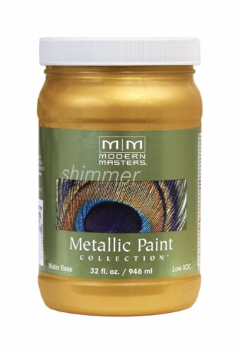 Modern Masters  Pale Gold  Protective Enamel  1 qt. - Case Of: 1; Perspective: front