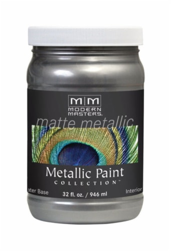 Modern Masters  Pewter  Protective Enamel  1 qt. - Case Of: 1; Perspective: front