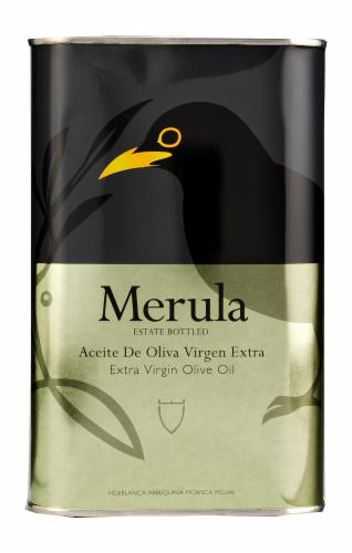 Merula Extra Virgin Olive Oil Perspective: front