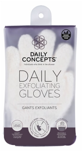 Daily Exfoliating Gloves Perspective: front