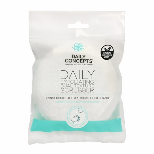 Daily Concepts  Exfoliating Body Scrubber Perspective: front