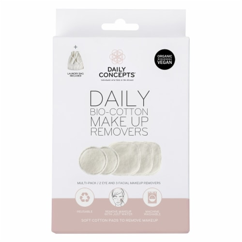 Daily Bio-Cotton Makeup Removers Perspective: front