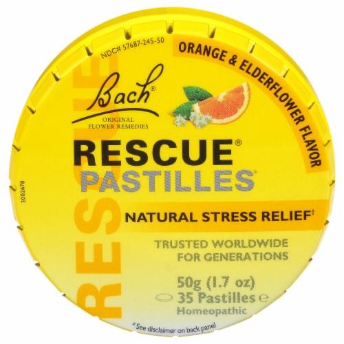 Bach Rescue Pastilles Perspective: front