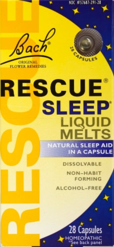 Bach Rescue Sleep Liquid Melts Perspective: front