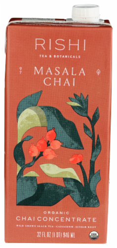 Rishi Masala Chai Concentrate Perspective: front