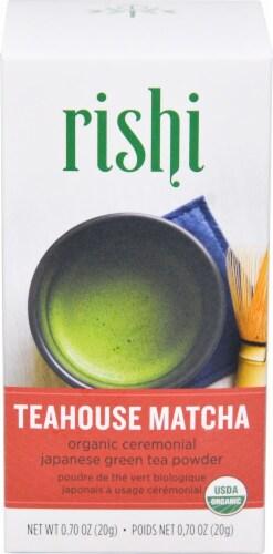 Rishi Tea Organic Teahou Perspective: front