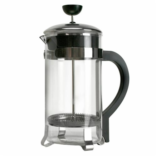 Primula Classic 8-Cup Chrome Coffee Press Perspective: front