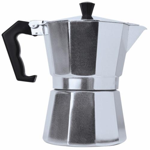 Primula Aluminum Stovetop Espresso Maker Perspective: front