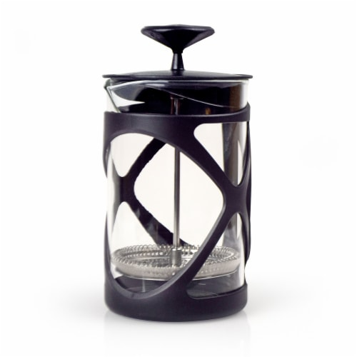 Primula Tempo Coffee Press - Black Perspective: front
