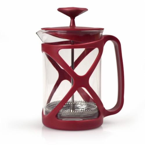 Primula Tempo Coffee Press - Red Perspective: front