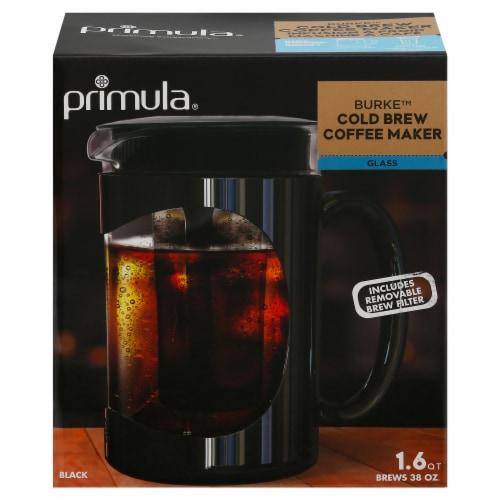 Primula Burke Cold Brew Coffee Maker - Black Perspective: front