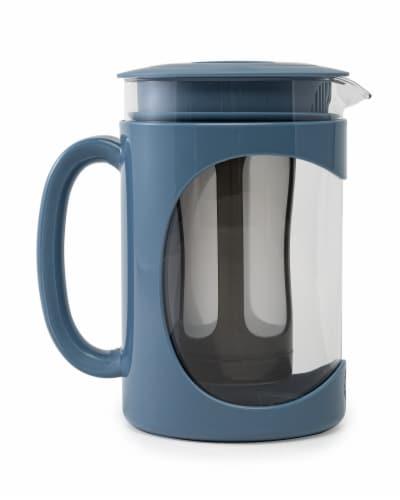 Primula Burke Cold Brew Coffee Maker - Blue Perspective: front