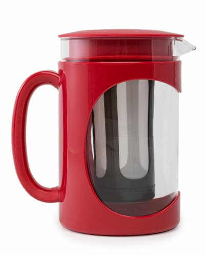 Primula Burke Cold Brew Coffee Maker - Red Perspective: front