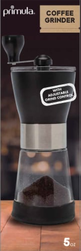 Primula Manual Coffee Grinder - Black Perspective: front