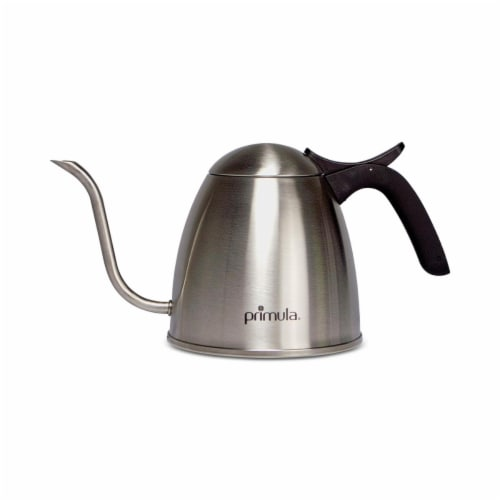 Ecolution PTKPO-5001 1.06 qt. Stainless Steel Primula Precision Pour Over Kettle Perspective: front