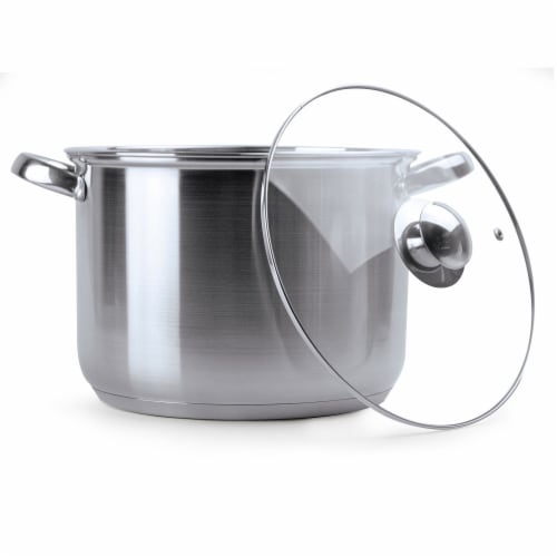 Ecolution Pure Intentions Polished Stockpot Perspective: front