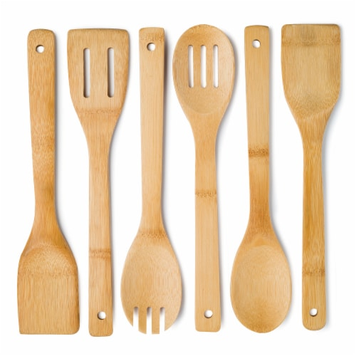 Cooking Light Bamboo Kitchen Tool Set Perspective: front