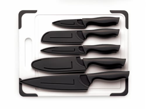 Cooking Light Non-Stick Cutlery Set - Black Perspective: front
