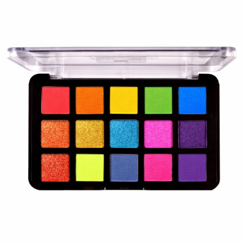 J.Cat Beauty Dia & Noche Tri-Element Peak Time Eyeshadow Palette Perspective: front