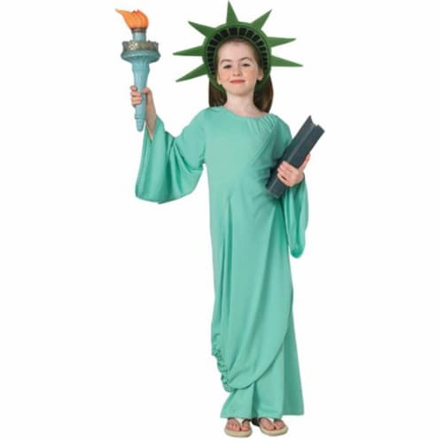 Costumes For All Occasions RU11259SM Statue Of Liberty Child Small Perspective: front