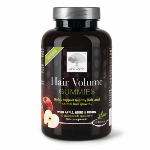 New Nordic Hair Volume Gummies Perspective: front