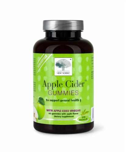 New Nordic® Apple Cider™ Dietary Supplement Gummies Perspective: front