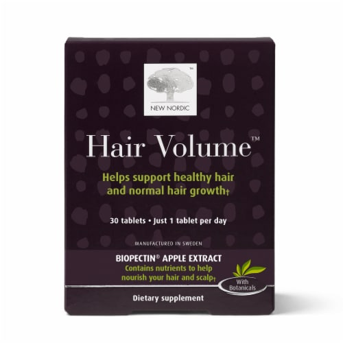 New Nordic Hair Volume Tablets Perspective: front