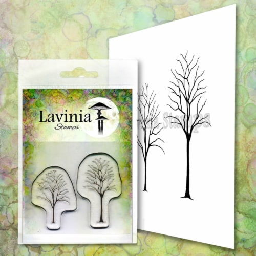 Lavinia Stamps Small Trees Perspective: front