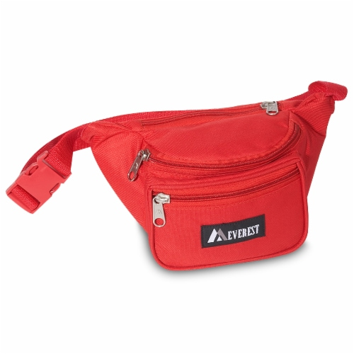 Everest Signature Small Waist Pack - Red Perspective: front