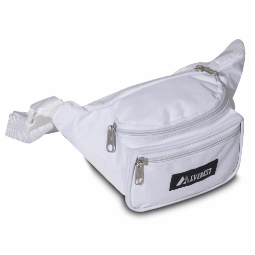 Everest Signature Small Waist Pack - White Perspective: front