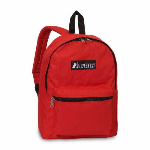 Everest Basic Backpack - Red Perspective: front