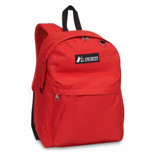 Everest Classic Backpack - Red Perspective: front