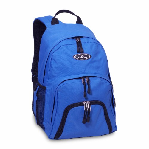 Everest Sporty Backpack - Royal Blue Perspective: front