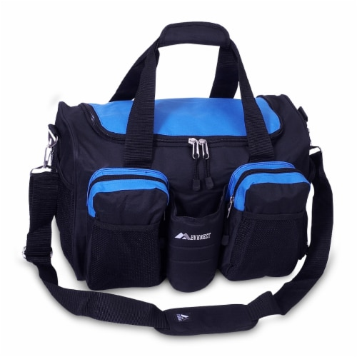 Everest Sports Duffel - Royal Blue/Black Perspective: front