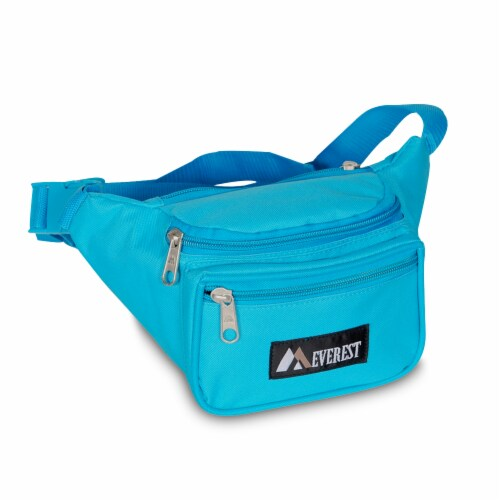 Everest Signature Small Waist Pack - Turquoise Perspective: front